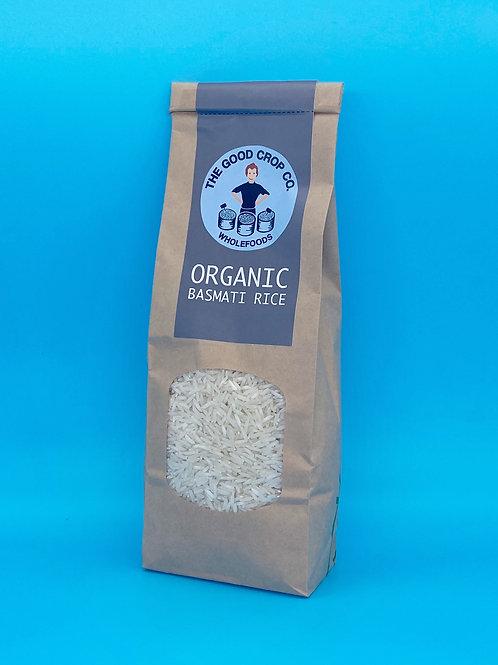 The Good Crop Co. Organic White Basmati Rice ☘️  🧡