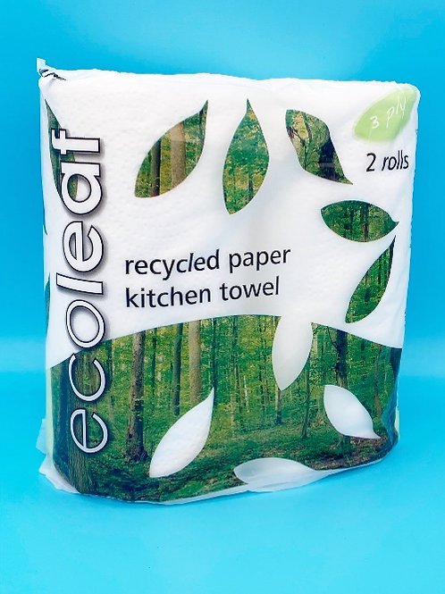 Ecoleaf Recycled Paper Kitchen Towels