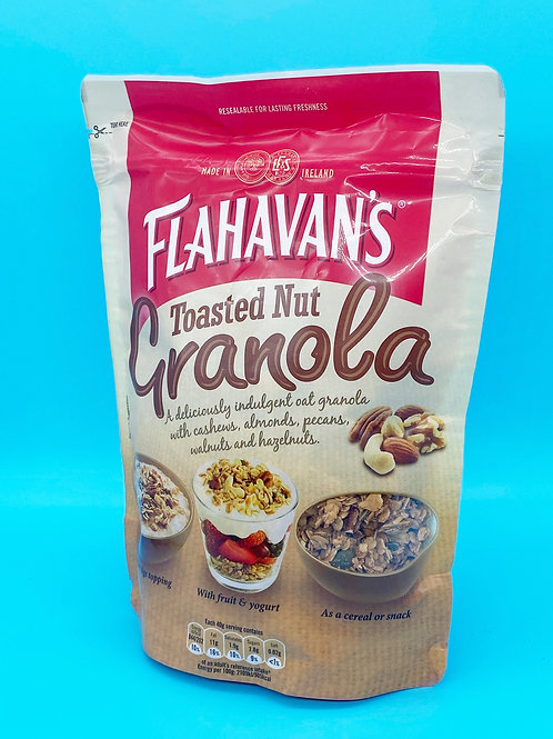 Flahavans Granola Toasted Nut☘️  🧡