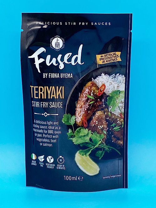 Fused by Fiona Teriyaki Stir Fry Sauce☘️  🧡