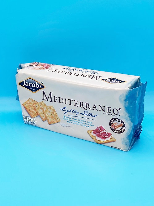 Jacobs Mediterraneo Lightly Salted Crackers