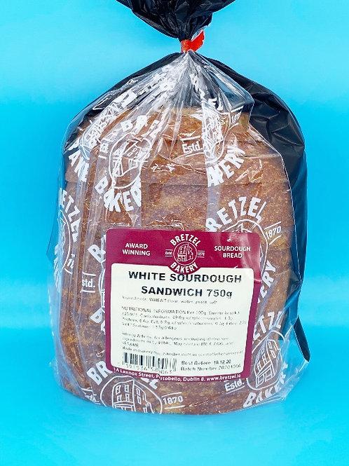 Bretzel Bakery White Sourdough Sliced