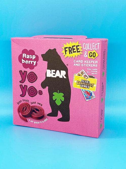 Yoyo Bear Raspberry