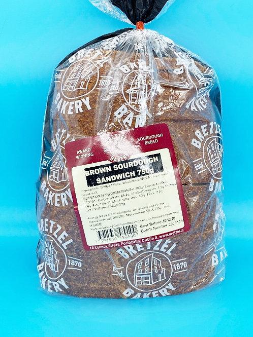 Bretzel Bakery Brown Sourdough Sliced