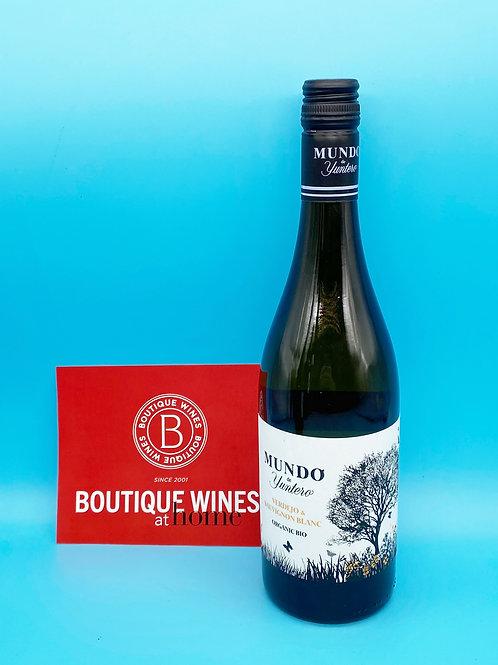 Mundo Verdejo Sauvignon Blanc organic biodynamic. 6 Bottles.