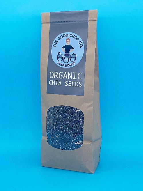 The Good Crop Co. Organic Chia Seeds ☘️  🧡