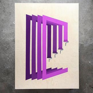 "🎆 ROLLER DAYZ 🎆 acrylic on wood 18"" x 24"" ._._.jpg"