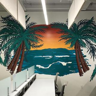 Criteo Office West Side Wall