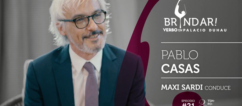 Pablo Casas en BRINDAR!