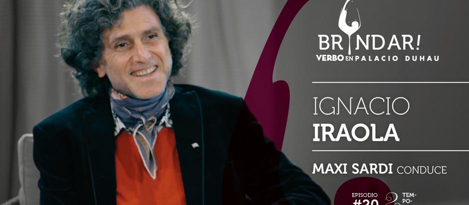 Ignacio Iraola en BRINDAR!