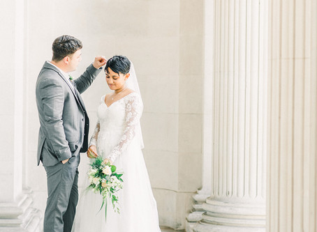 A Simple Intimate Wedding In The City