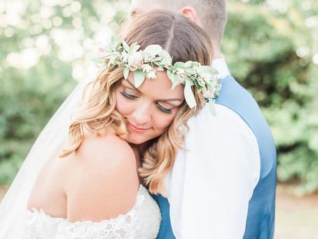 Rhia & Ross' Summer Soirée Wedding