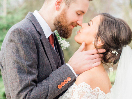 A Festive Wedding at The Old Stables