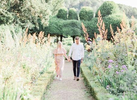 Kelmarsh Hall Garden's Romance