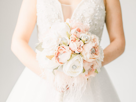 Why making a bouquet was so important to DIY bride Jen