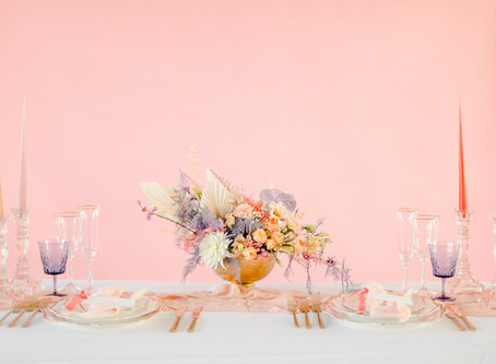 Ethereal Pink Wedding Ideas for the Millenial Bride