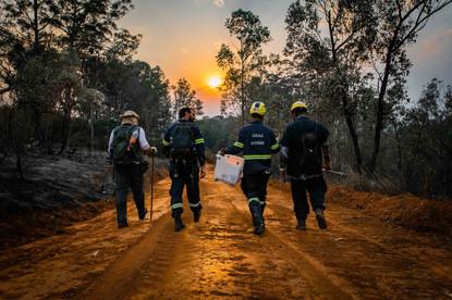 Fim da operação emergencial no Parque Estadual Juquery.