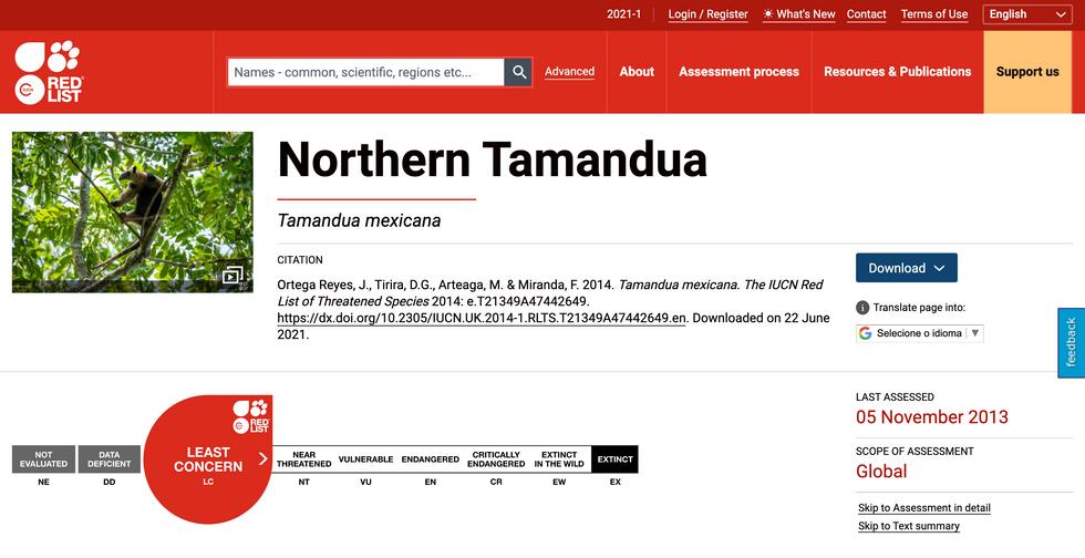 Lista Vermelha da IUCN