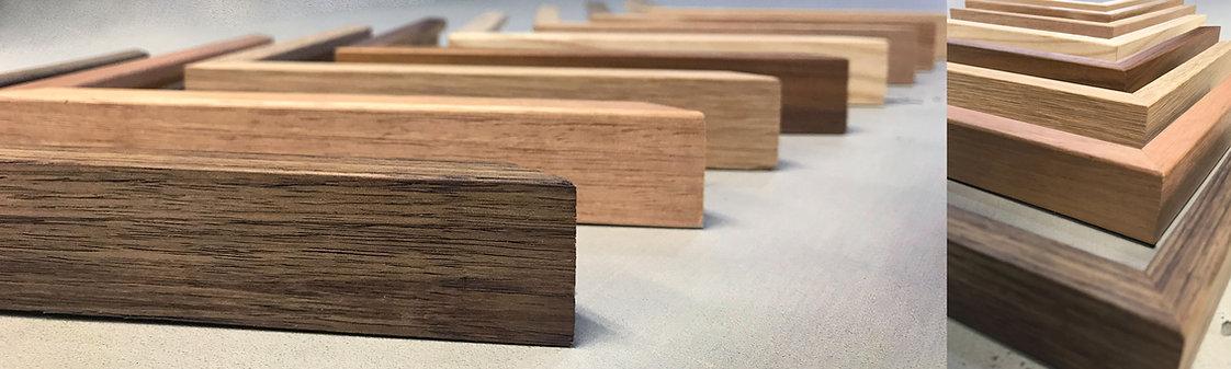 Tasmanian Oak frames. custom frames canberra
