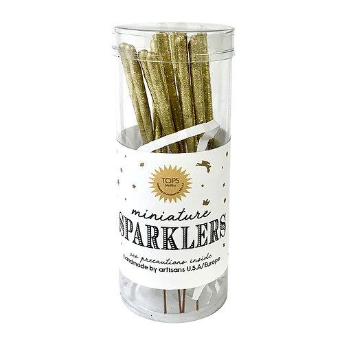 Gold Mini Sparkler Can