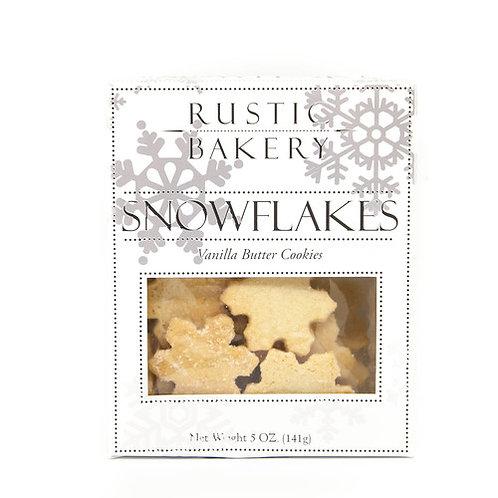 Rustic Bakery Vanilla Butter Snowflake Cookies