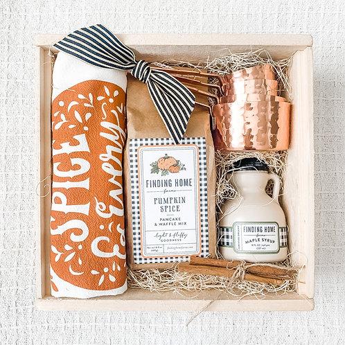 Pumpkin Pancakes Gift Box