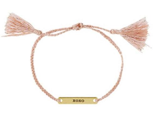 XOXO Stamped Bracelet