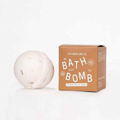 Oatmeal Milk Bath Bomb