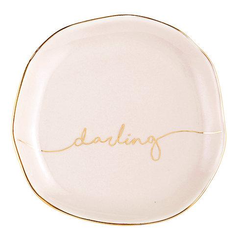 Ceramic Darling Trinket Dish