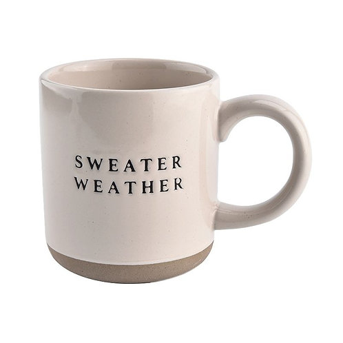Sweater Weather Ceramic Coffee Mug