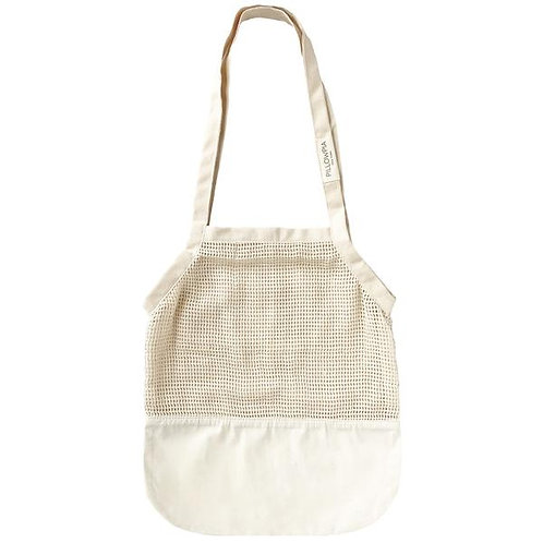 Canvas Bottom French Market Tote