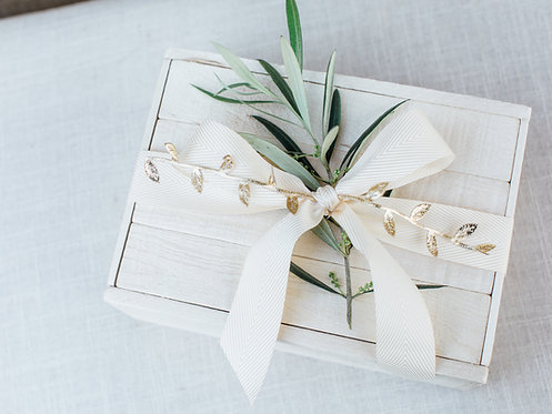 Small Pine Wood Gift Box