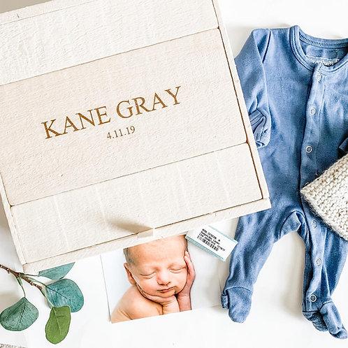 Baby Boy Keepsake Box
