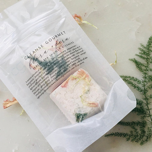 Flora and Fern Shower Steamers