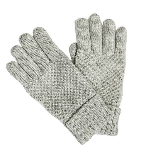 Warm and Cozy Finger Gloves - Grey