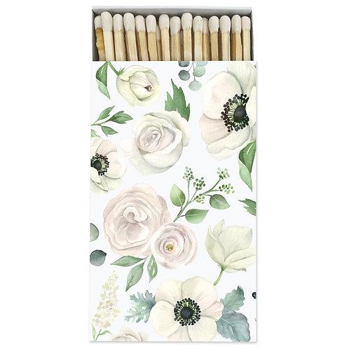 Large Floral Matchbox