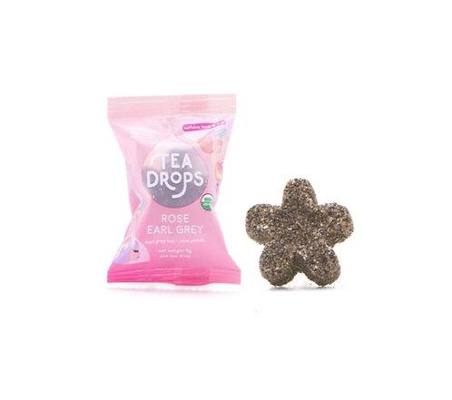 Tea Drops Rose Earl Grey Pressed Loose Leaf Tea
