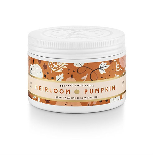 Illume Heirloom Pumpkin Candle Tin