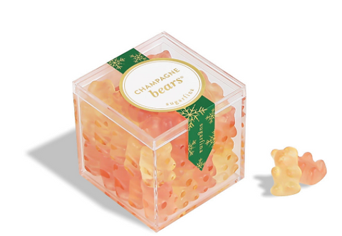 Sugarfina Holiday Champagne Bears Candy Cube