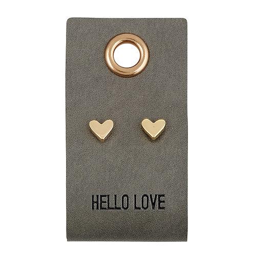 Hello Love Earrings
