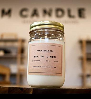 KSM Fresh Linen Candle