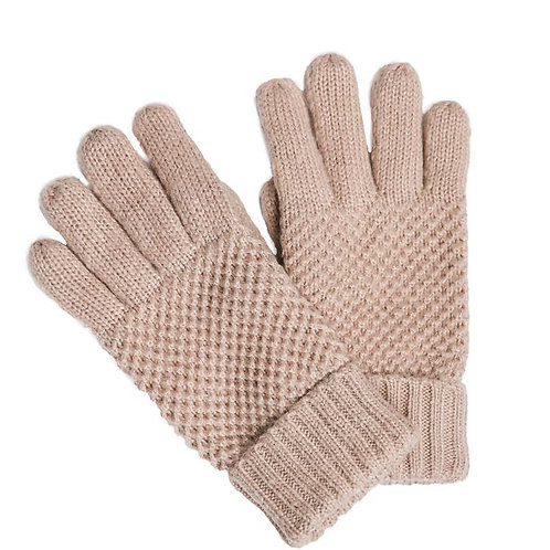 Warm and Cozy Finger Gloves - Pink