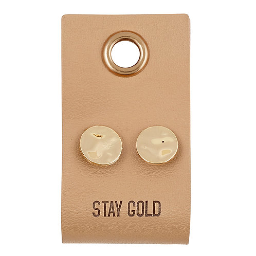 Stay Gold Earrings