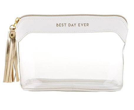 Best Day Ever Makeup/Travel Pouch
