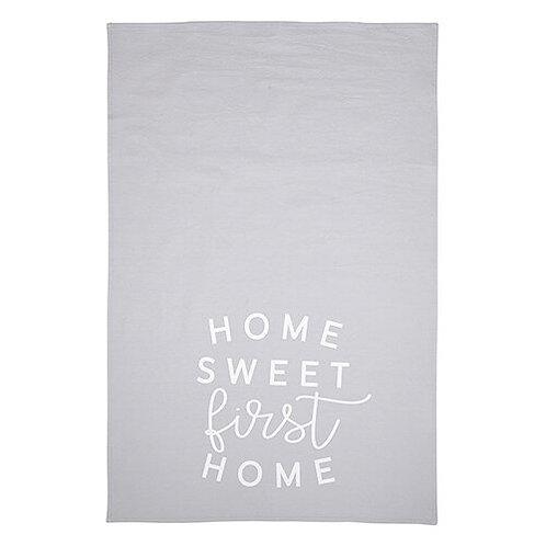 """Home Sweet First Home"" Flour Sack Towel"