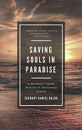 Book Cover - Saving Souls in Paradise Bl