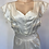 Thumbnail: VTG NOSWTAGS Beauty Wedding Gown Nightgown Dress Satin Rayon SZ 34 1940's