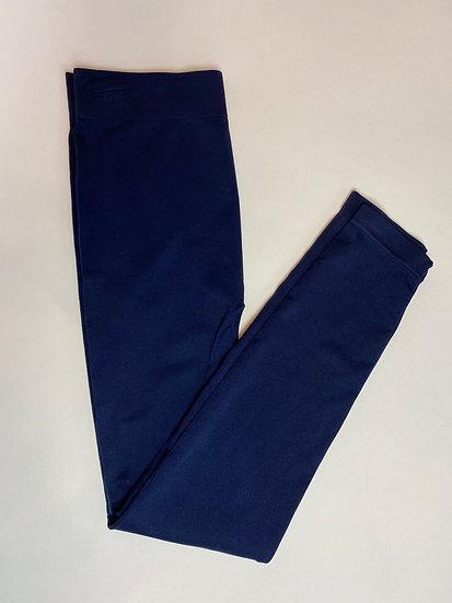 Curvy Navy Blue Long Legging