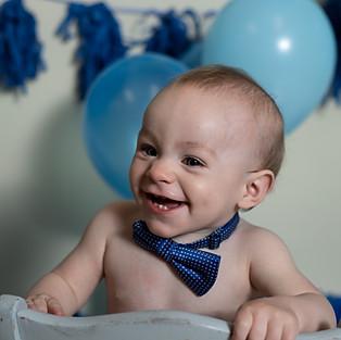 Wyatt's First Birthday