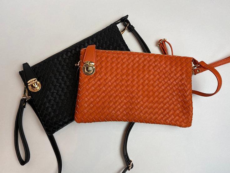 Black or Orange Crossbody Bags